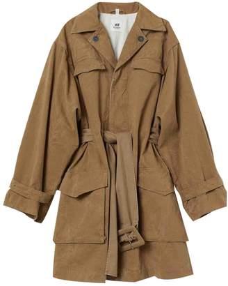 H&M Studio Studio Camel Cotton Jacket for Women