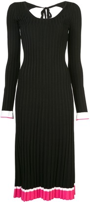 Prabal Gurung Knitted Scoop Back Dress