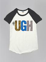 Junk Food Clothing Kids Girls #ugh Short Sleeve Raglan-su/jb-xs