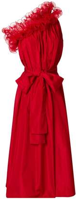 Stella McCartney Ruffle One-Shoulder Dress