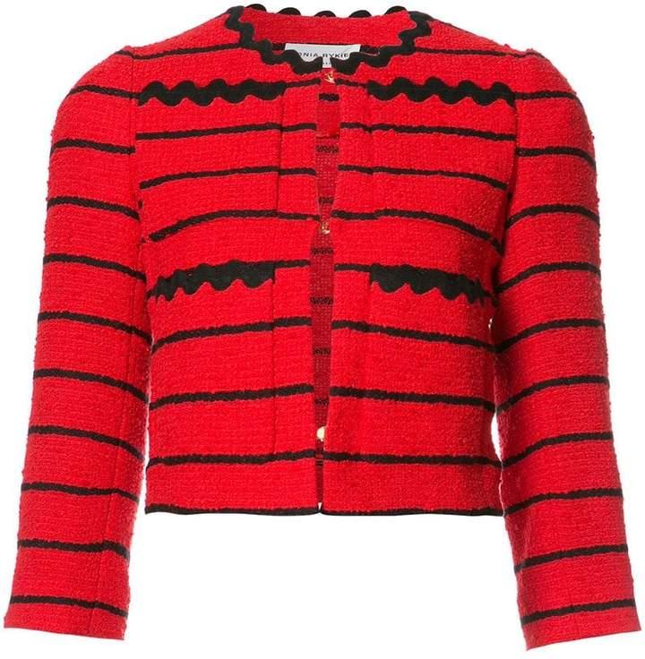 Sonia Rykiel striped cropped jacket