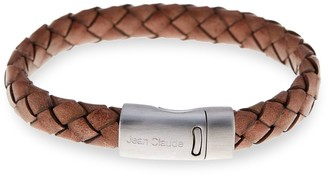 Jean Claude Braided Leather Bracelet