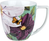 JCPenney Impressions Set of 4 Clematis Mugs