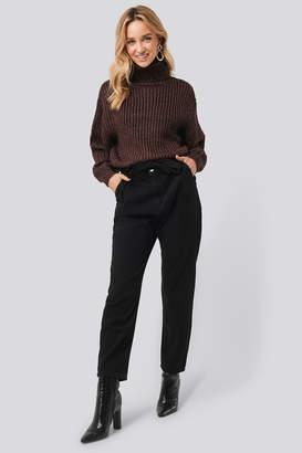 MANGO Carrot Jeans Black