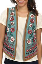 Tasha Polizzi Embroidered and Beaded Vest