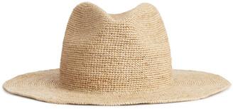 Arket Straw Fedora Hat