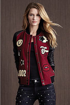 True Religion Womens Varsity Jacket