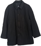 Burberry Black Polyester Coats