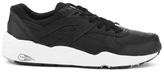 Puma R698 Core Leather Trainers Black/black/drizzle