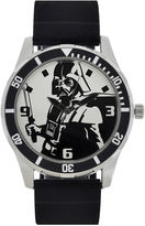 Star Wars Mens Black and White Watch