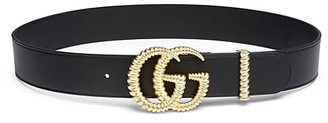 Gucci Leather GG Moon Belt