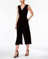 Nine West Surplice Cropped Jumpsuit