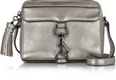 Rebecca Minkoff Gunmetal Laminated Leather Mab Camera Bag