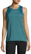 The North Face Reactor Mesh-Panel Tank Top, Turquoise