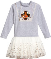 Disney Disney's Moana Graphic-Print Tutu Dress, Little Girls (4-6X)