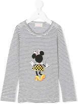 Simple Minnie print T-shirt
