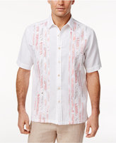 Tasso Elba Men's Tropical Pieced Shirt, Only at Macy's