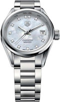 Tag Heuer WAR2414.ba0770 Carrera stainless steel and mother-of-pearl watch