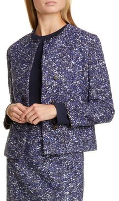BOSS Julira Tweed Suit Jacket