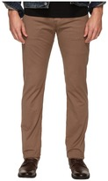 AG Adriano Goldschmied Matchbox Slim Straight Twill Pants in Baked Clay