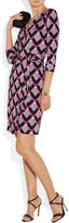 Diane von Furstenberg New Julian printed silk-jersey wrap dress