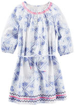 Osh Kosh Floral Bandana Print Dress