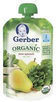 Gerber Organic 2nd Foods Baby Food Pouch Pears & Spinach - 3.5oz
