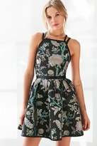 Kimchi & Blue Kimchi Blue Hidden Dragon Jacquard Mini Dress