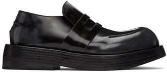 Marsèll Black Musona Loafers