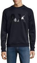 Armani Exchange Graphic Crewneck Sweater