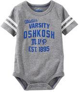 Osh Kosh Varsity Logo Bodysuit