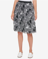 Tommy Hilfiger Pleated Chiffon Skirt, Created for Macy's