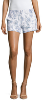 Joie Ebele Cotton Embroidered Lace Short