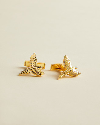 Ted Baker DEUX Parrot cufflinks
