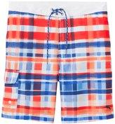 Tommy Bahama Men's Baja Cayo Largo Plaid Boardshort 8146678