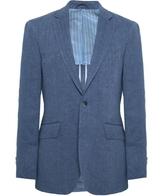Linen Delave Herringbone Jacket