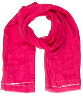 Bajra Metallic-Trimmed Scarf w/ Tags