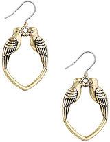 Lucky Brand Kissing Bird Drop Earrings