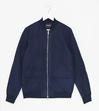 Burton Menswear Big & Tall recycled utility bomber in navy