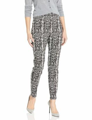 Karen Kane Women's Snake Jacquard Piper Pants