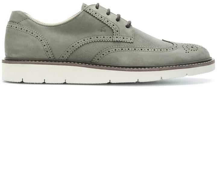 Hogan ridged sole Oxford shoes