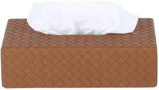 Bottega Veneta Intrecciato Leather Tissue Box