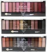 Emori Glamorous 36 Natural, Smoky, Ultra Color Eyeshadow Pro Makeup kit