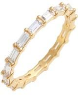 Judith Jack Women's Stackable Cubic Zirconia Baguette Ring