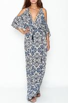 Sage Kimono Top Maxi