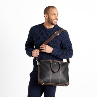 Mark And Graham Italian Leather Briefcase