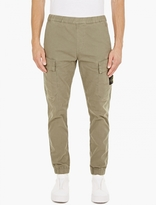 Stone Island Sand Slim-Fit Cargo Trousers
