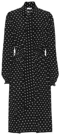Balenciaga BB-printed silk dress