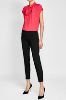Moschino Cropped Pants with Zipped Side