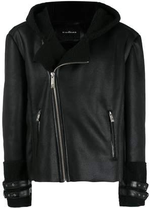 John Richmond Jarvis lined biker jacket